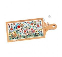 Deska dekoracyjna kaszubska łąka