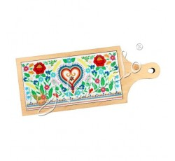 Deska dekoracyjna pieniny serce