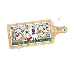 Deska dekoracyjna kaszubska kodra para