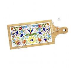 Deska dekoracyjna kaszubska kodra kwiaty 2