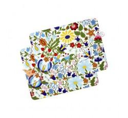 Podkładka na stół kaszubskie kwiaty średnia 2szt