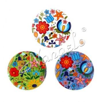 Magnes kaszubskie kwiaty kolorowe