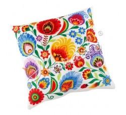 Poduszka łowickie kwiaty