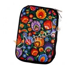 """Etui na tablet mini """"7"""" łowickie kwiaty"""