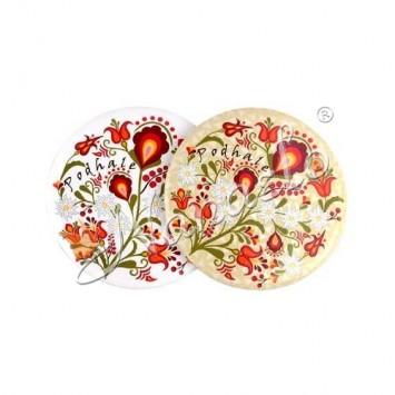Lusterko podhalańskie kwiaty III