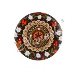 Lusterko podhalańska rozeta w kwiatach
