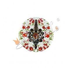 Magnes owal duży podhalańska parzenica w kwiatach