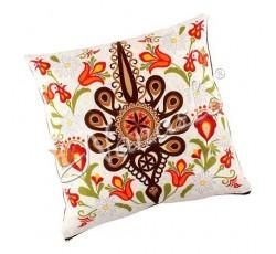 Poduszka podhalańska parzenica w kwiatach