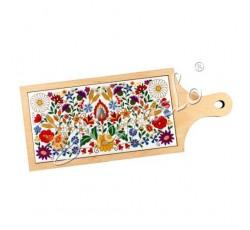 Deska dekoracyjna kociewskie kwiaty