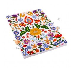 Notes A6 kociewskie kwiaty