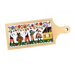 Deska dekoracyjna łowicka kodra kapela