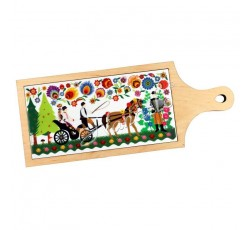 Deska dekoracyjna łowicka kodra ślub